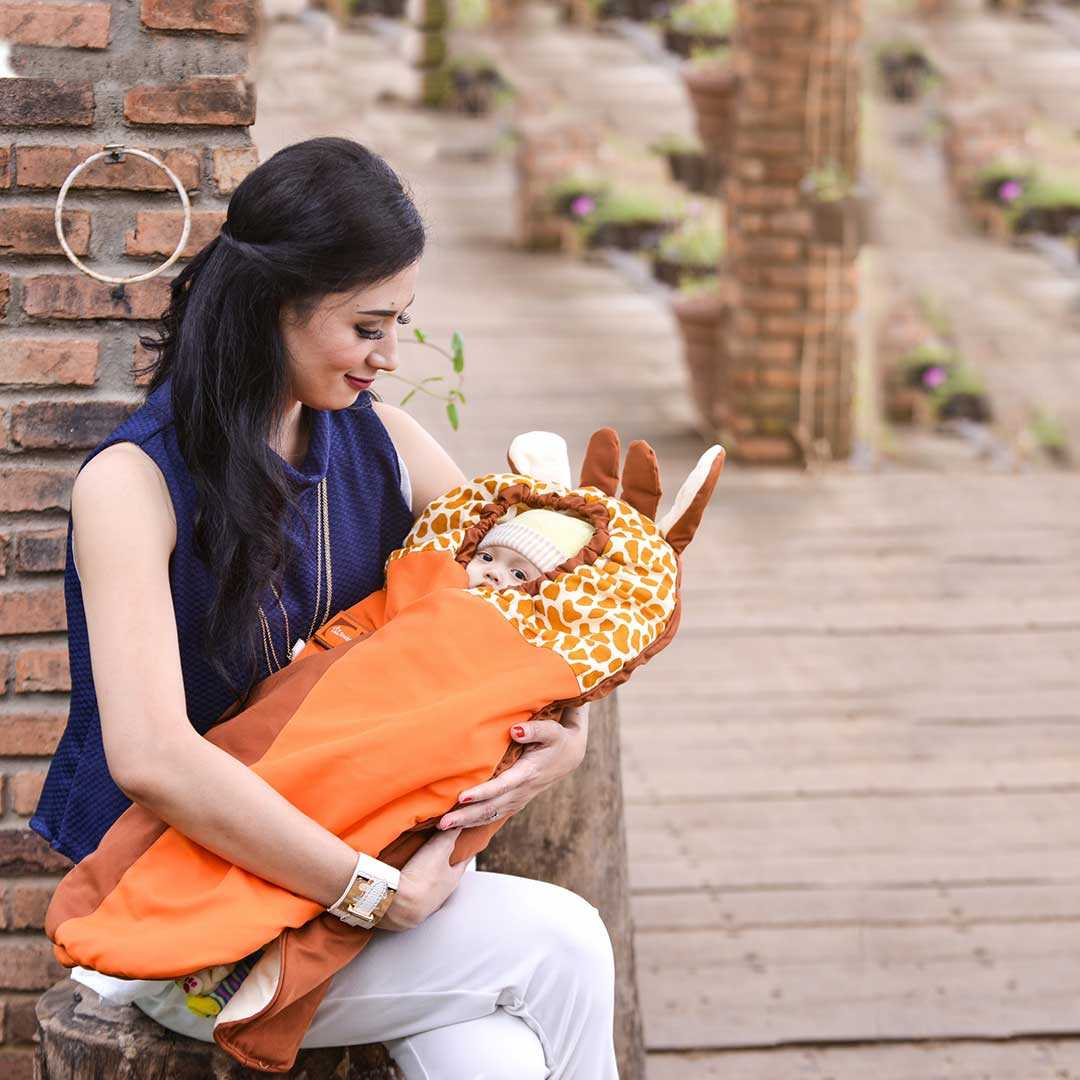 Selimut Bayi Giraffe Animal Series